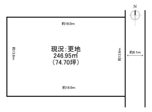 呉竹町1丁目 A(74.70坪)