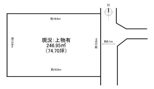 呉竹町1丁目B(74.70坪)