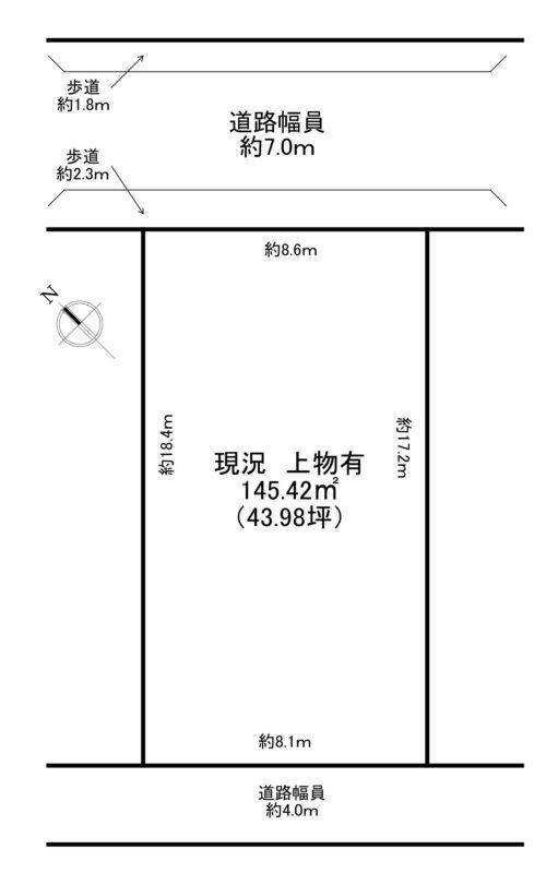 舞崎町2丁目(43.98 坪)